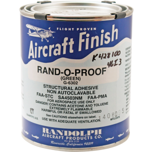 Rand-O-Proof (green) G-6302, quart
