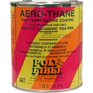 Aero-Thane Finish - Metallic Colors, quart, FAA Approved