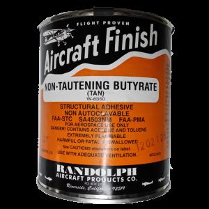 Non-Tautening Butyrate (tan) W-8350, quart