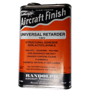 Universal Retarder, Y-9910, quart, FAA Approved
