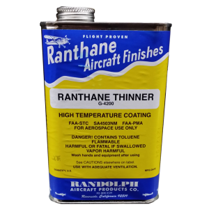 Ranthane Thinner G-4200, quart, FAA Approved