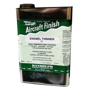 Enamel Thinner 257, gallon, FAA Approved