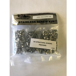 Stainless Steel Screw Kit - PA-18