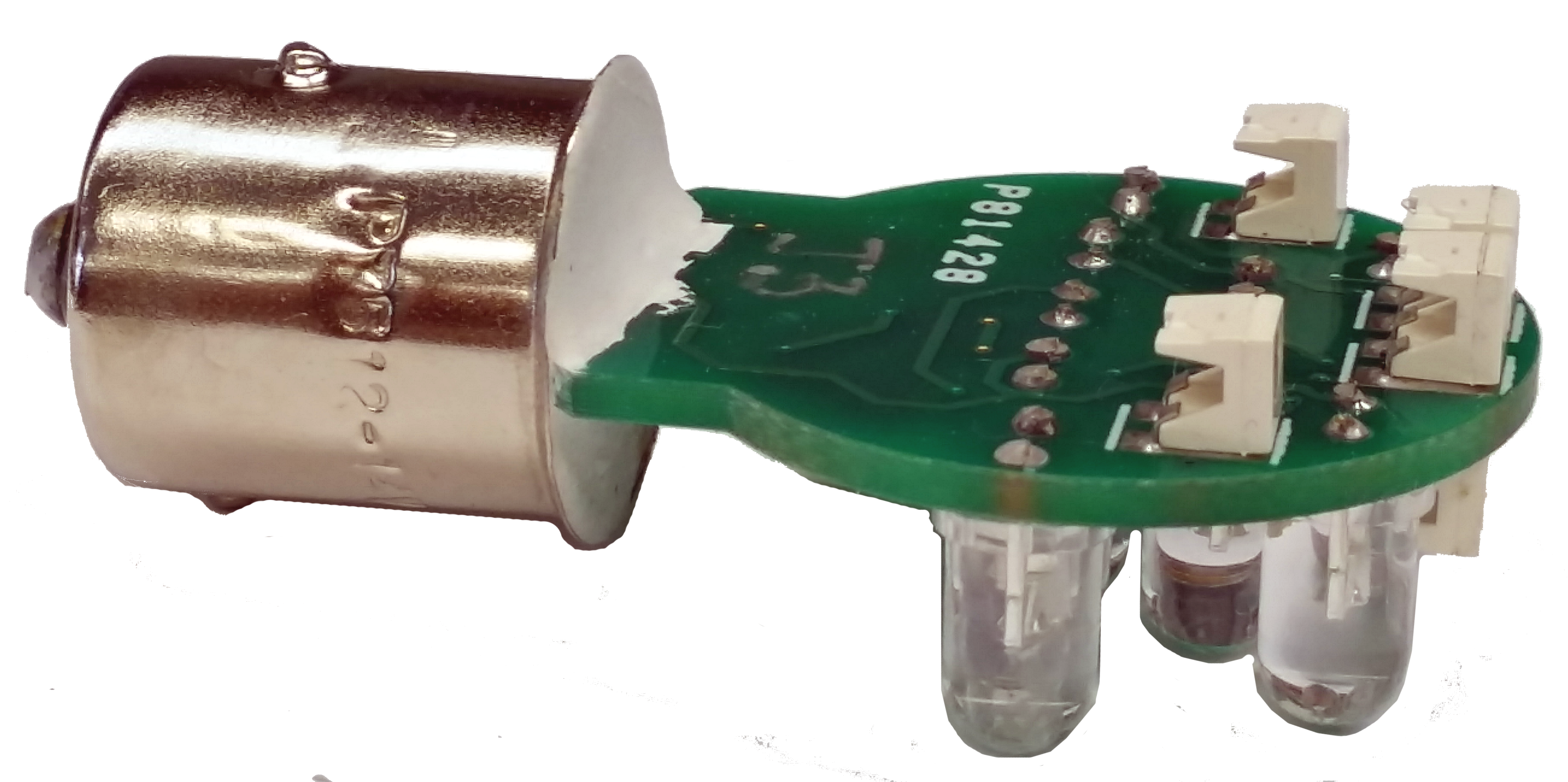 Lighting Basement Washroom Stairs: Wag-Aero 14V Green LED Replacement Paddle Wing Tip Bulb By