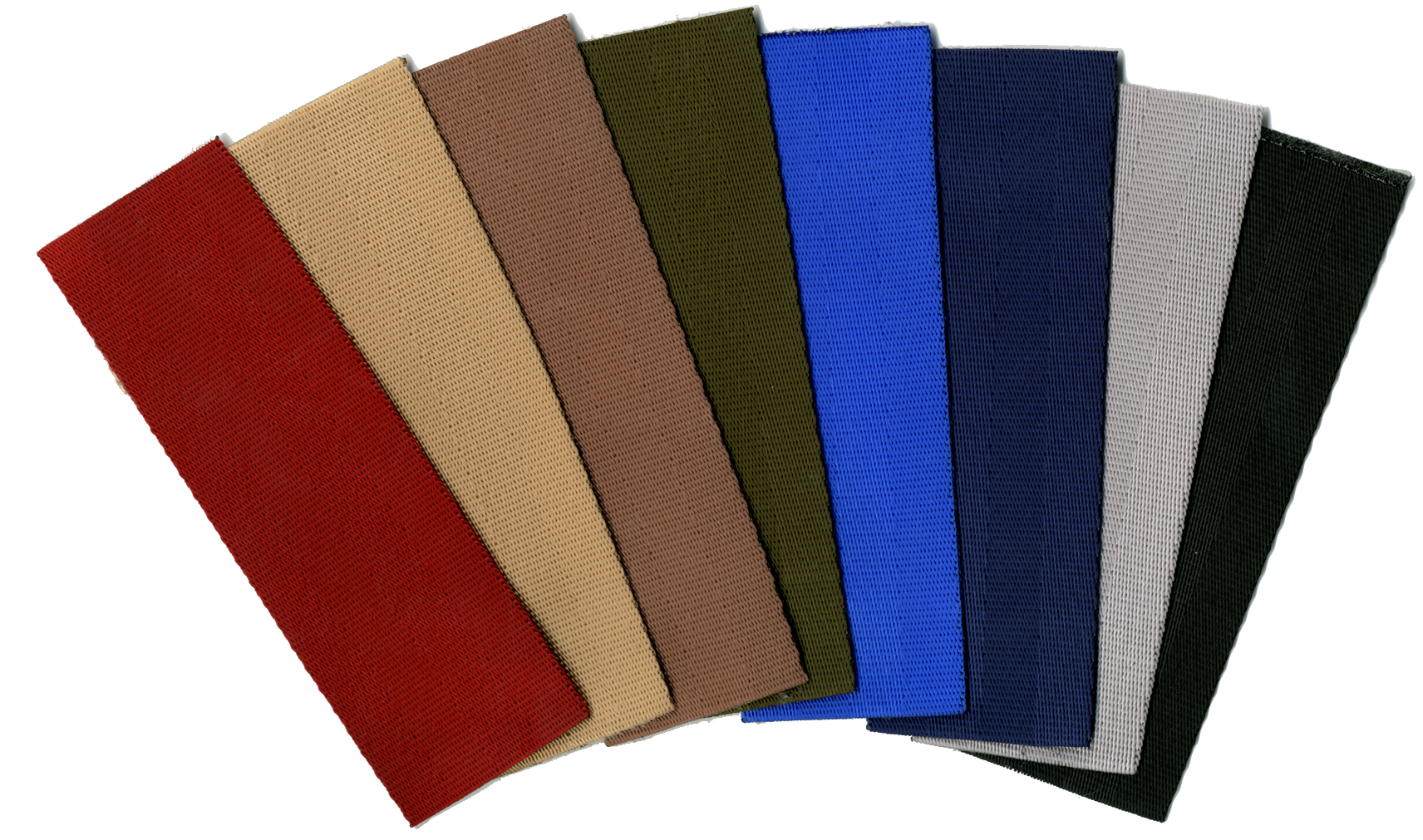 Webbing Color Swatches